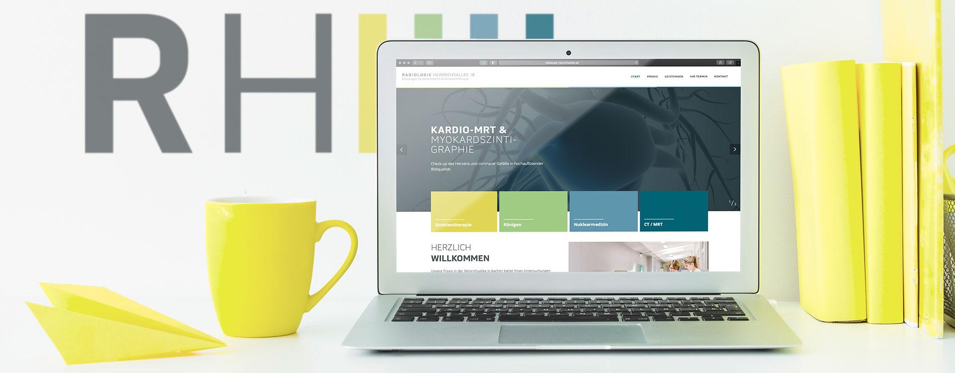 News | Radiologie Heinrichsallee | Unsere neue Webseite ist online!